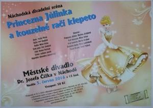 Plakát_Primcezna Jůlinka a kouzelné račí klepeto
